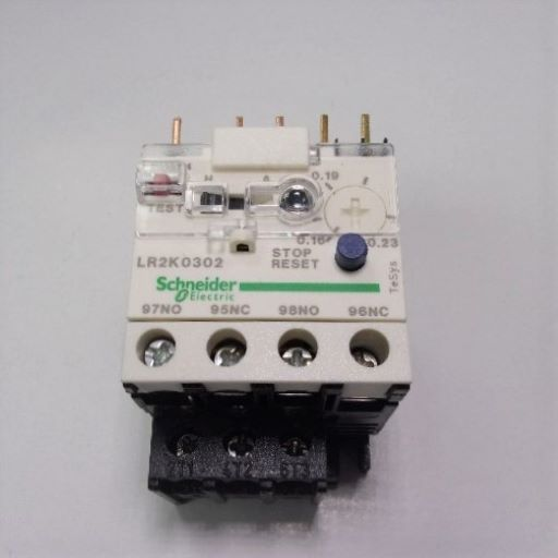LR2K0302-Thermal Overload Relay .16-.23 Amps K-Line