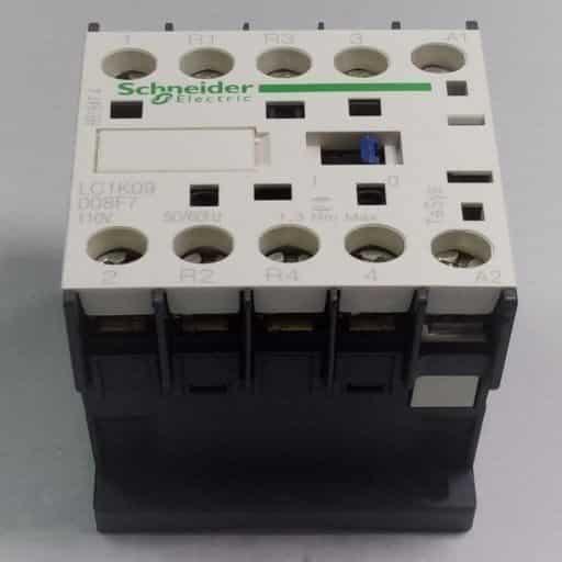 LC1K09008F7-Contactor 2NO-2NC 110v 9A