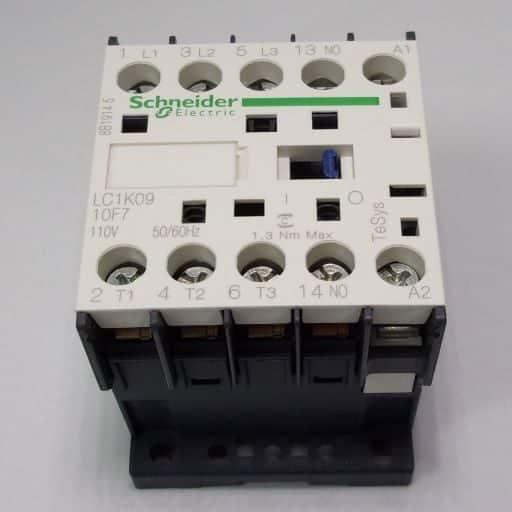 LC1K0910F7-Contactor 3NO-1NO 110v 9A