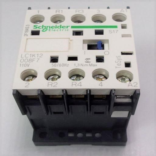 LC1K12008F7-Contactor 2NO-2NC 110v 12A - K-Line Series