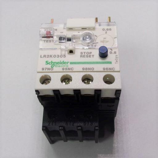 LR2K0305-Thermal Overload Relay .54-.80 Amps K-Line