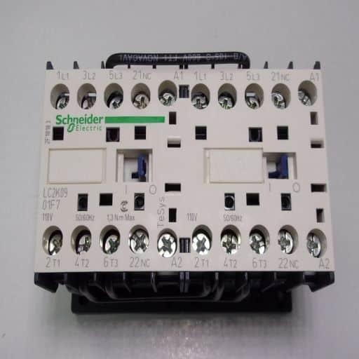 LC2K0901F7-Contactor Reversing 3NO-1NC 110v 9A