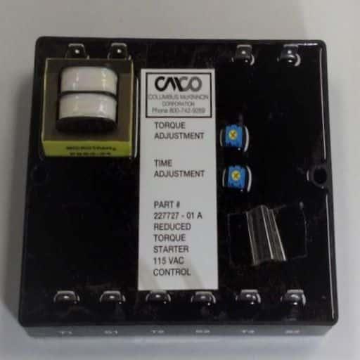 22772701-Soft Start Module 1-Speed 3.3A 200v to 460v 60hz 115v Control
